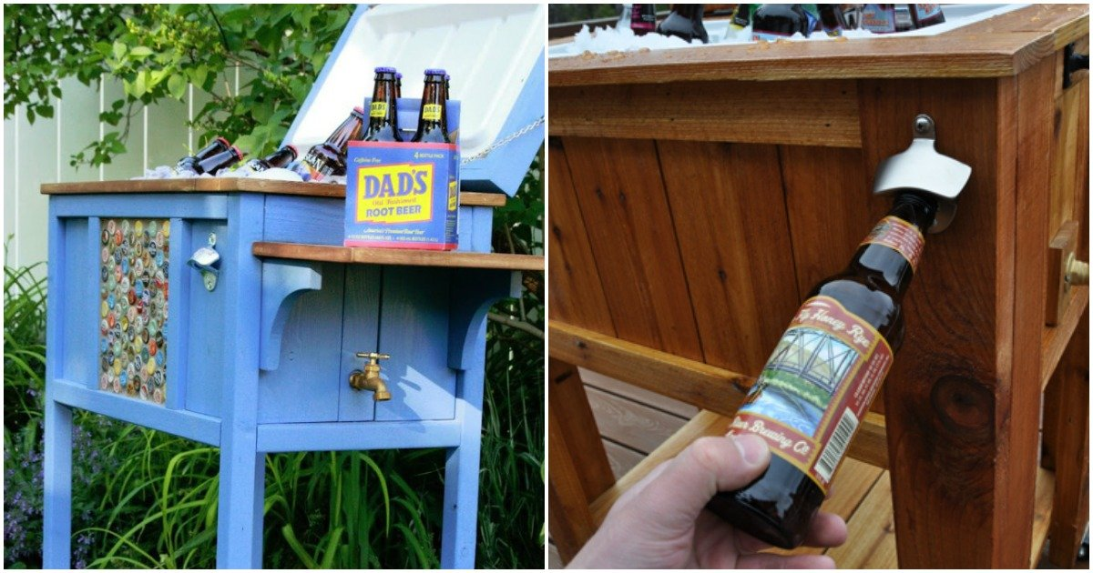 DIY Outdoor coolers