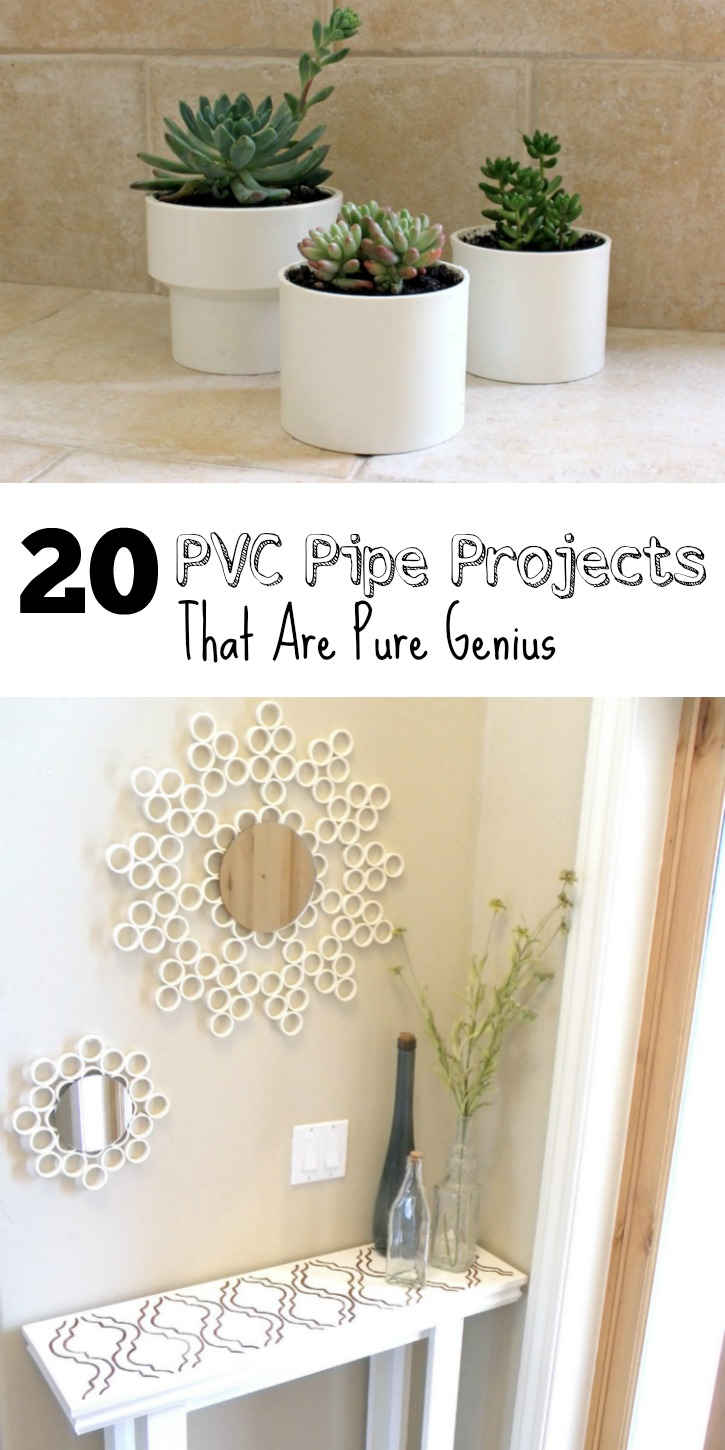 20 Affordable PVC Pipe Projects That Are Pure Genius