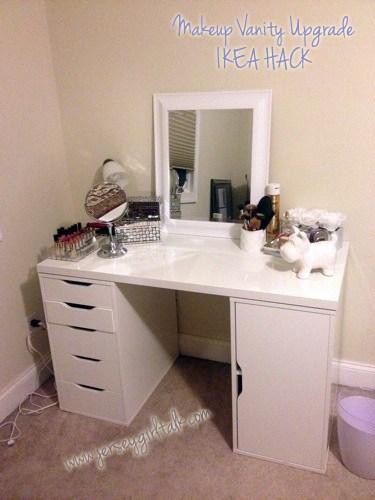 DIY Your Dream Makeup Vanity in 16 Affordable Ways