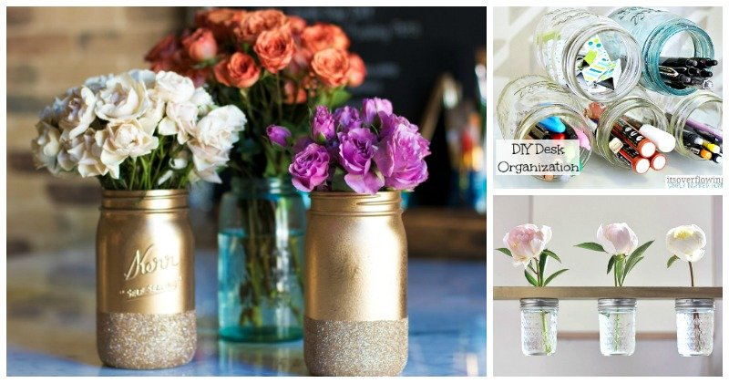 Crafty Mason jar Ideas
