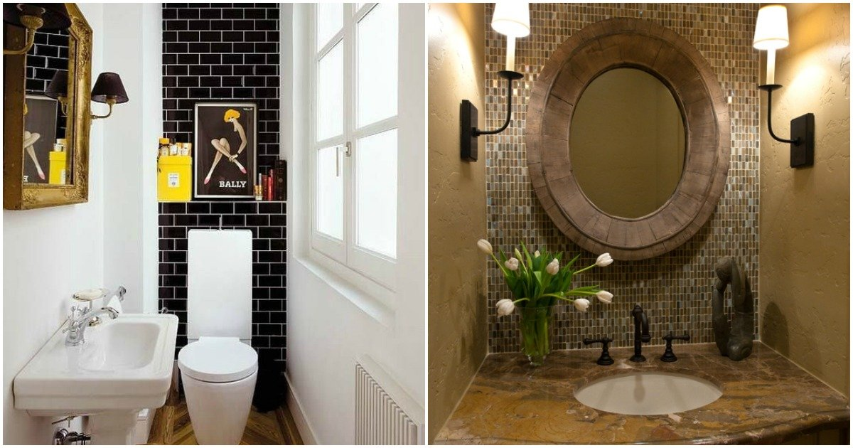 18 small bathroom ideas to make this cozy space look - Important ideas to make a small room look bigger ...