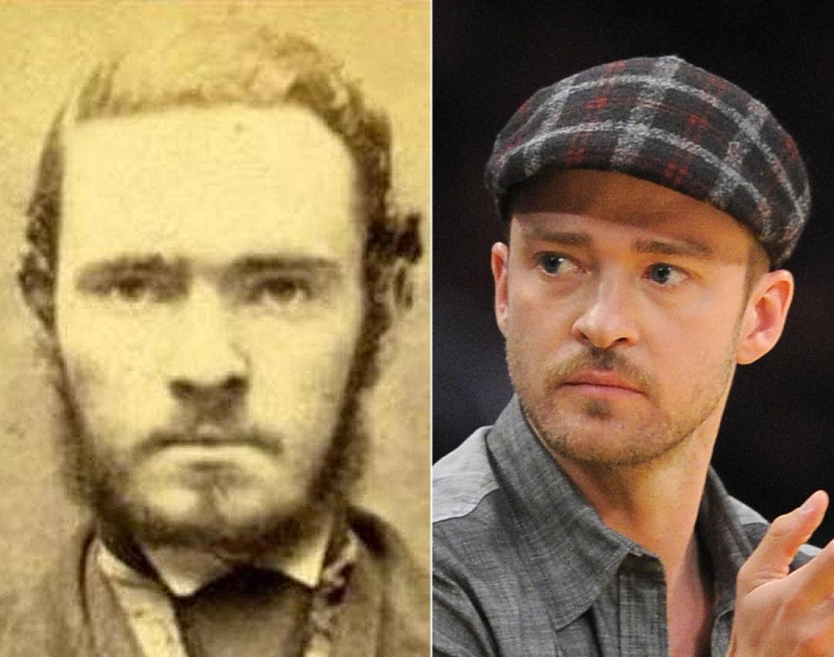 38 Celebrities And Their Lookalikes From History