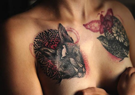 24 Uplifting Breast Cancer Tattoos For Survivors And Supporters Ritely