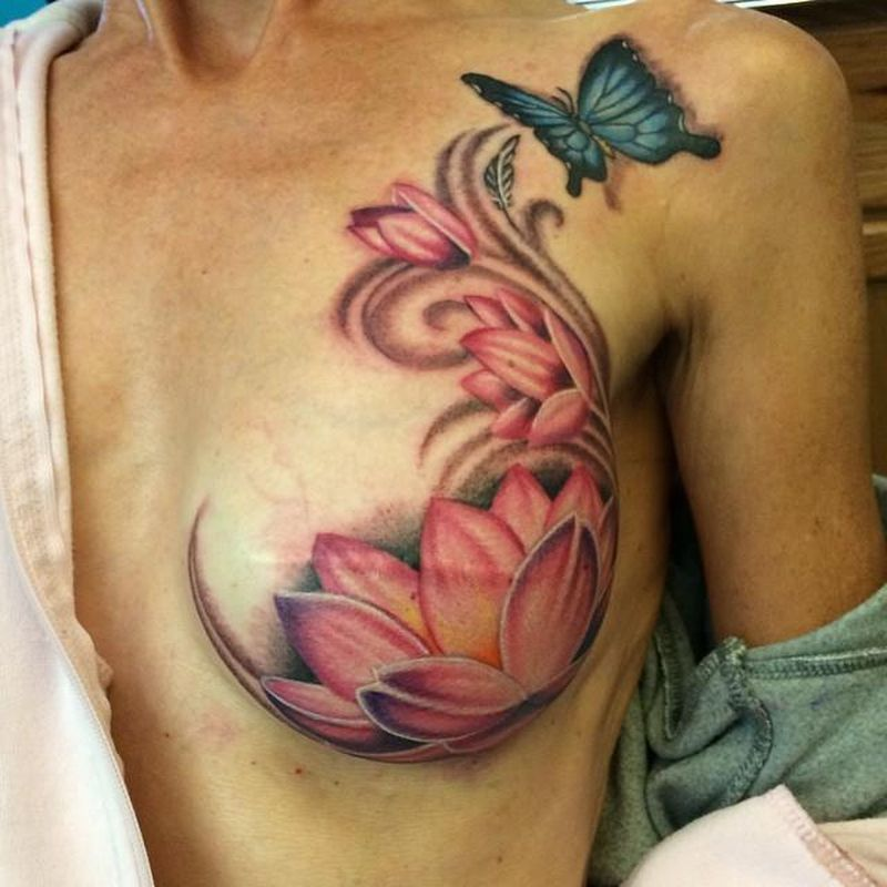 24 Uplifting Breast Cancer Tattoos For Survivors And Supporters
