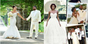 Celeb wedding photos