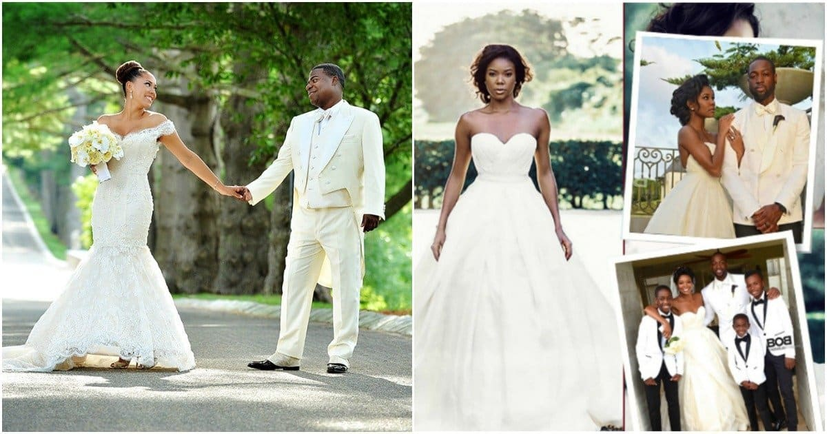 Celeb wedding photos