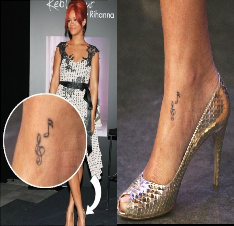 Discover The Secrets Behind 18 Of Rihanna's Tattoos