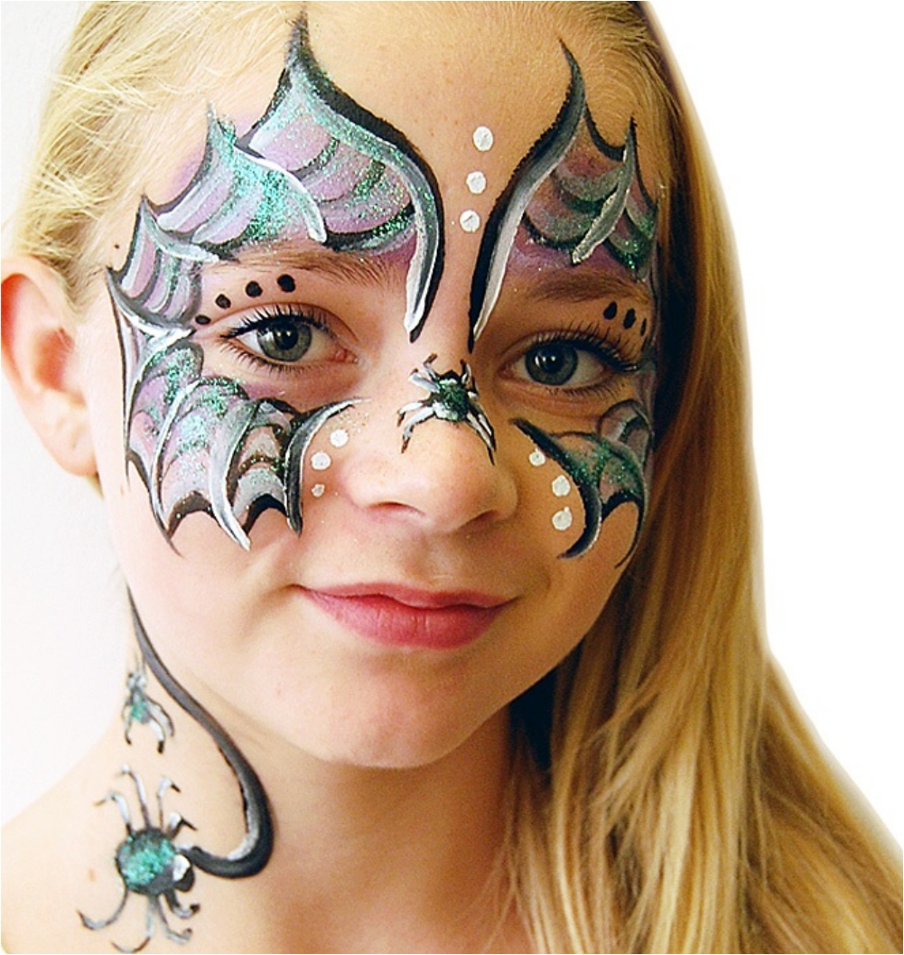 31 Cool Face Painting Ideas Youve Got To Try Ritely