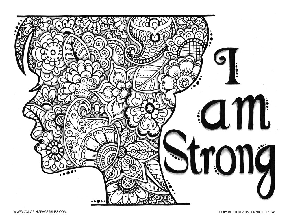 39 free coloring pages grown ups can enjoy ritely - Free Inspirational Coloring Pages For Adults