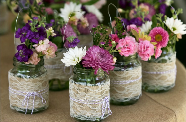 35 Thrifty Mason Jar Centerpieces That Look Simply Amazing Ritely