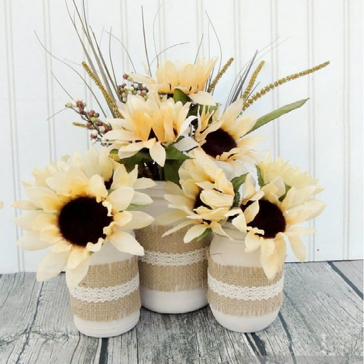 Thrifty mason jar centerpieces that look simply amazing