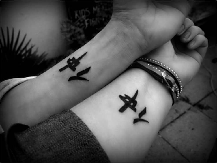 37 Most Wonderful Tattoos Celebrating Friendship Ritely
