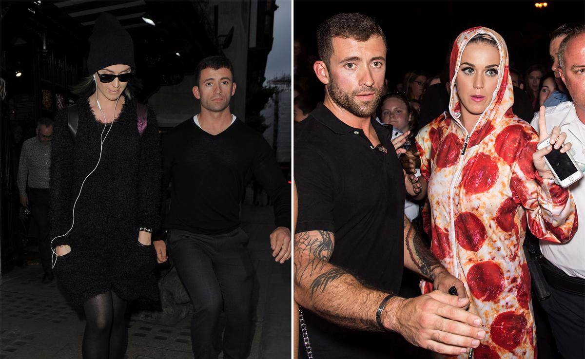 26 Hot Celebs With Even Hotter Bodyguards