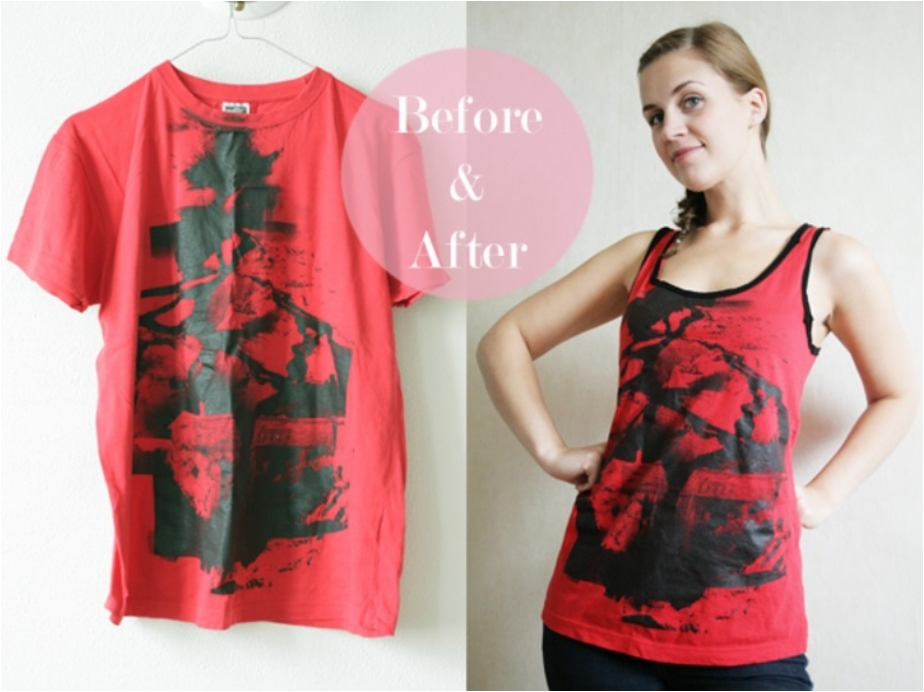 Make Old Shirts and Tees Wearable Again with 38 DIY Projects