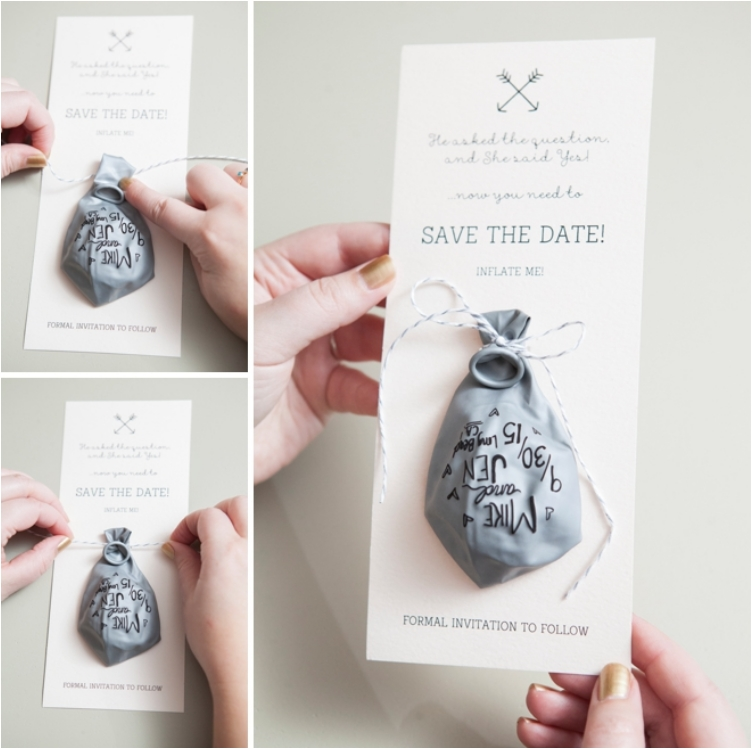 30 Creative Ideas to Make Your Own Wedding Invitations - Ritely