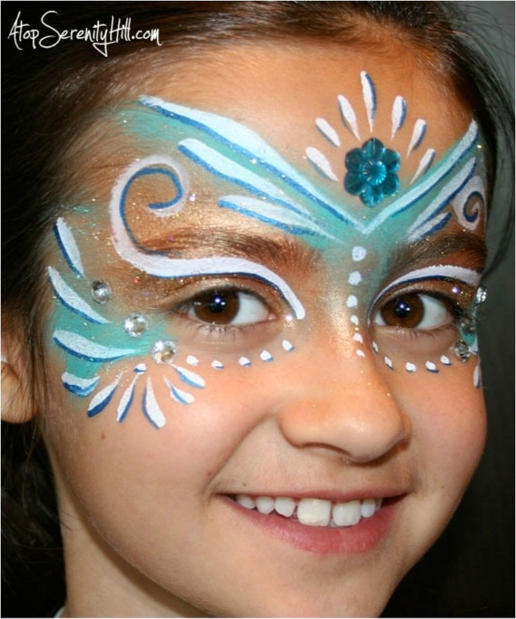 31 cool face painting ideas you 39 ve got to try ritely. Black Bedroom Furniture Sets. Home Design Ideas