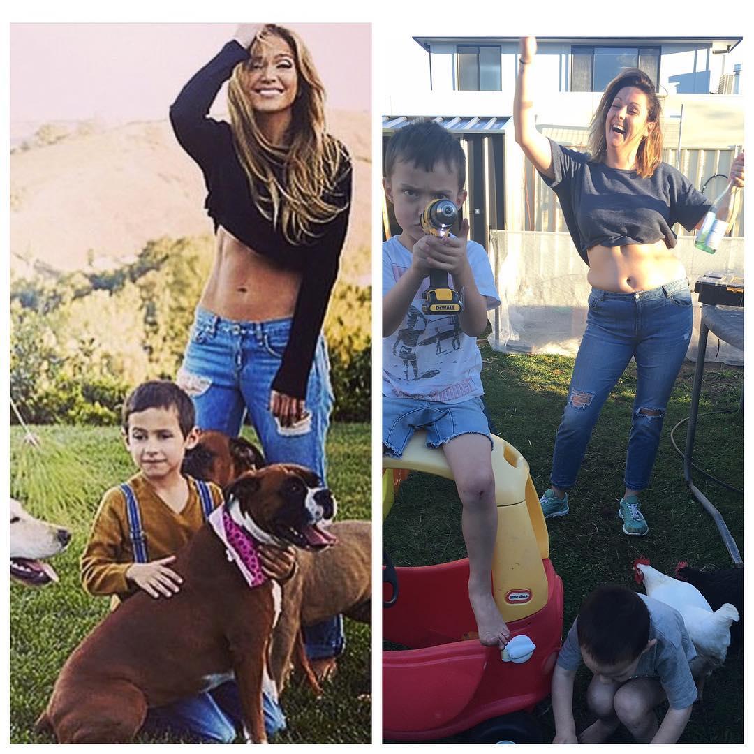 Mom Masterfully Mocks Celebrity Instagram Pics