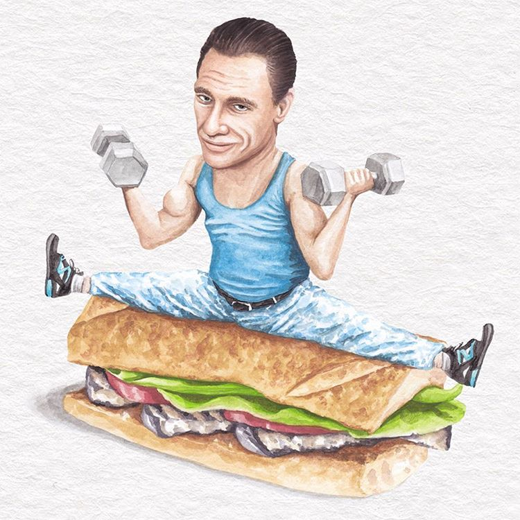 Celebs on Sandwiches Is the Greatest Thing Since Sliced Bread