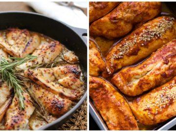 Healthy chicken breasts