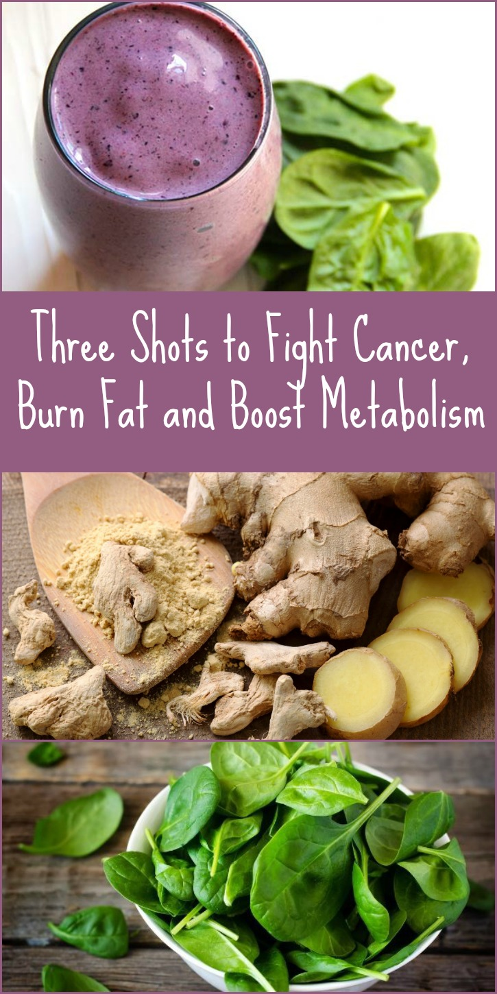 Three Shots to Fight Cancer, Burn Fat and Boost Metabolism