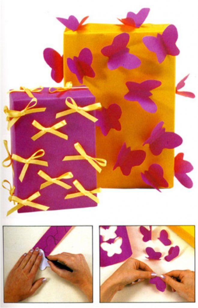 Упаковать подарок своими руками из подручных материалов