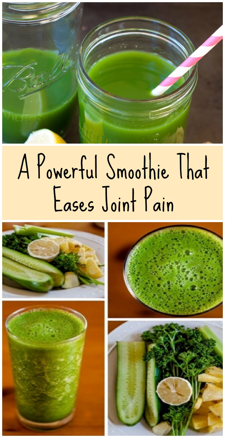 A Powerful Smoothie That Eases Joint Pain