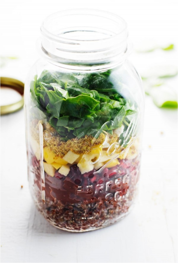 30 Mason Jar Salads Packed with Health and Ready to Go