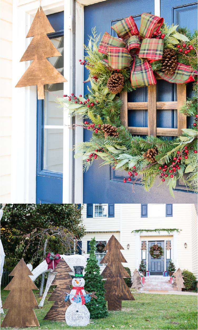 home depot holiday decor 24 festive ideas for outdoor christmas decorations
