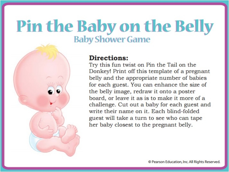 21 Fun Games For An Entertaining Baby Shower Ritely