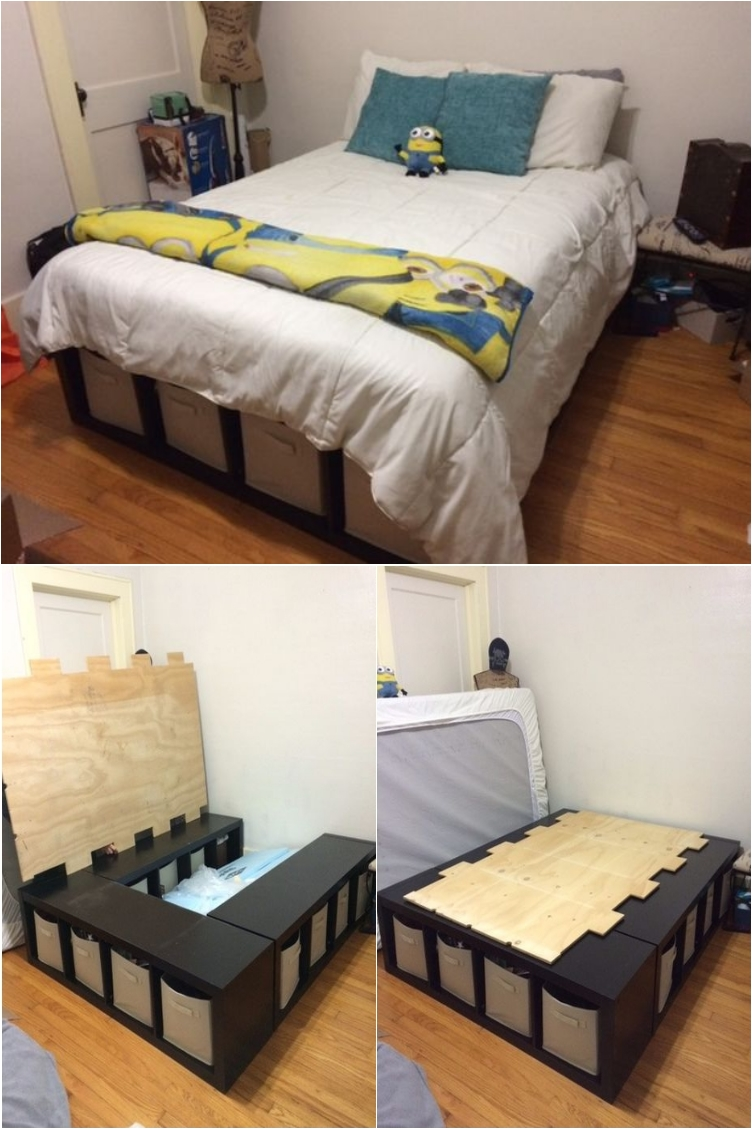 New Bedroom 21 Diy Bed Frames For An Affordable New Bedroom Look Ritely