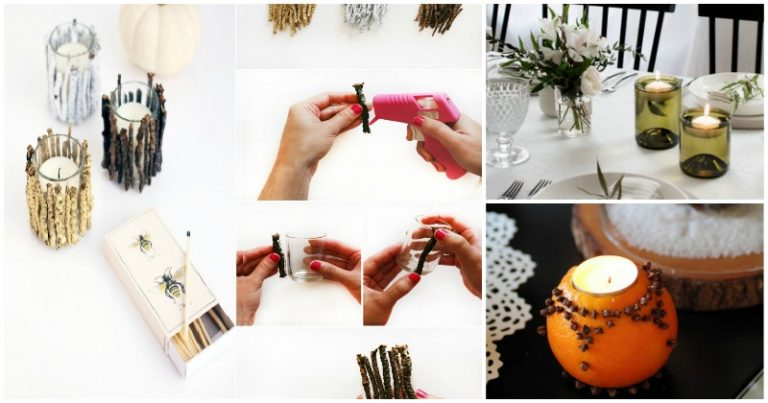 DIY Candle Holders to Add Flair to Your Home