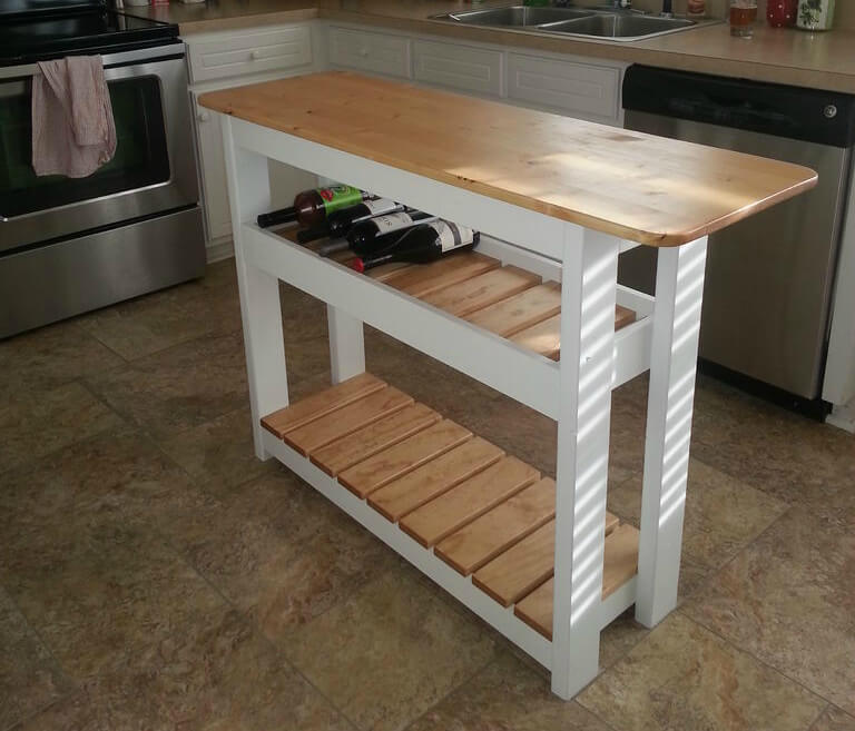 Diy Kitchen Island Bar diy islands to complete your kitchen