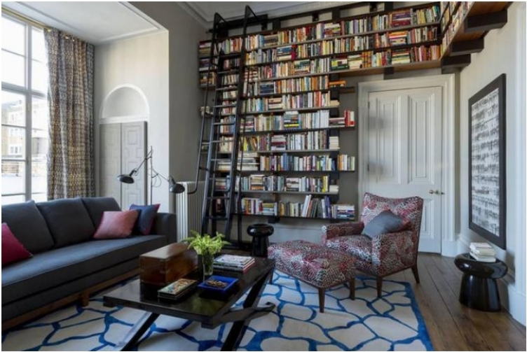 32 Home Libraries Any Bibliophile Would Love to Have - Ritely