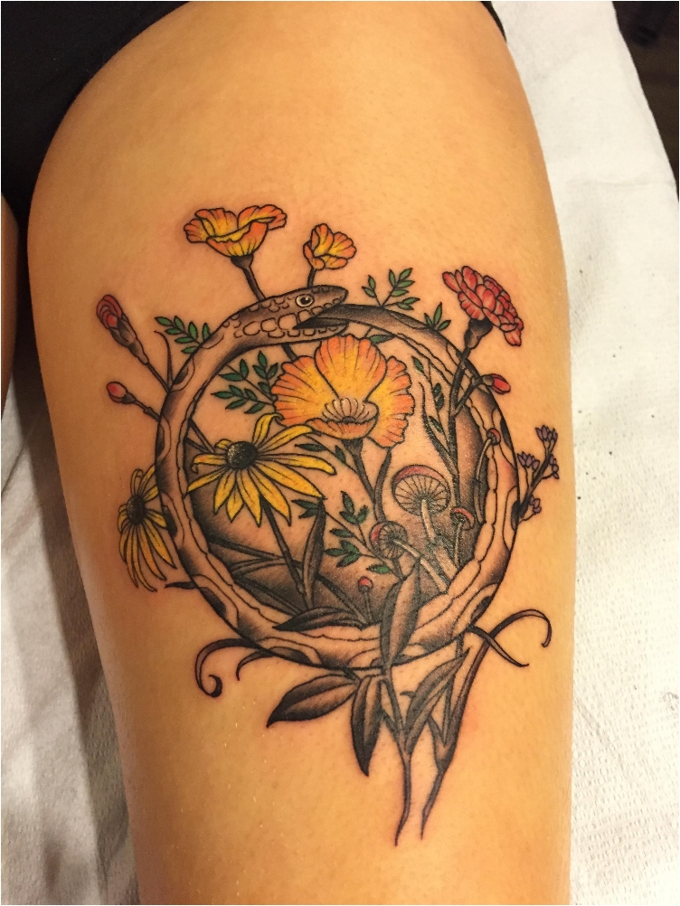 From Delicate To Rebellious: 40 Fabulous Flower Tattoos