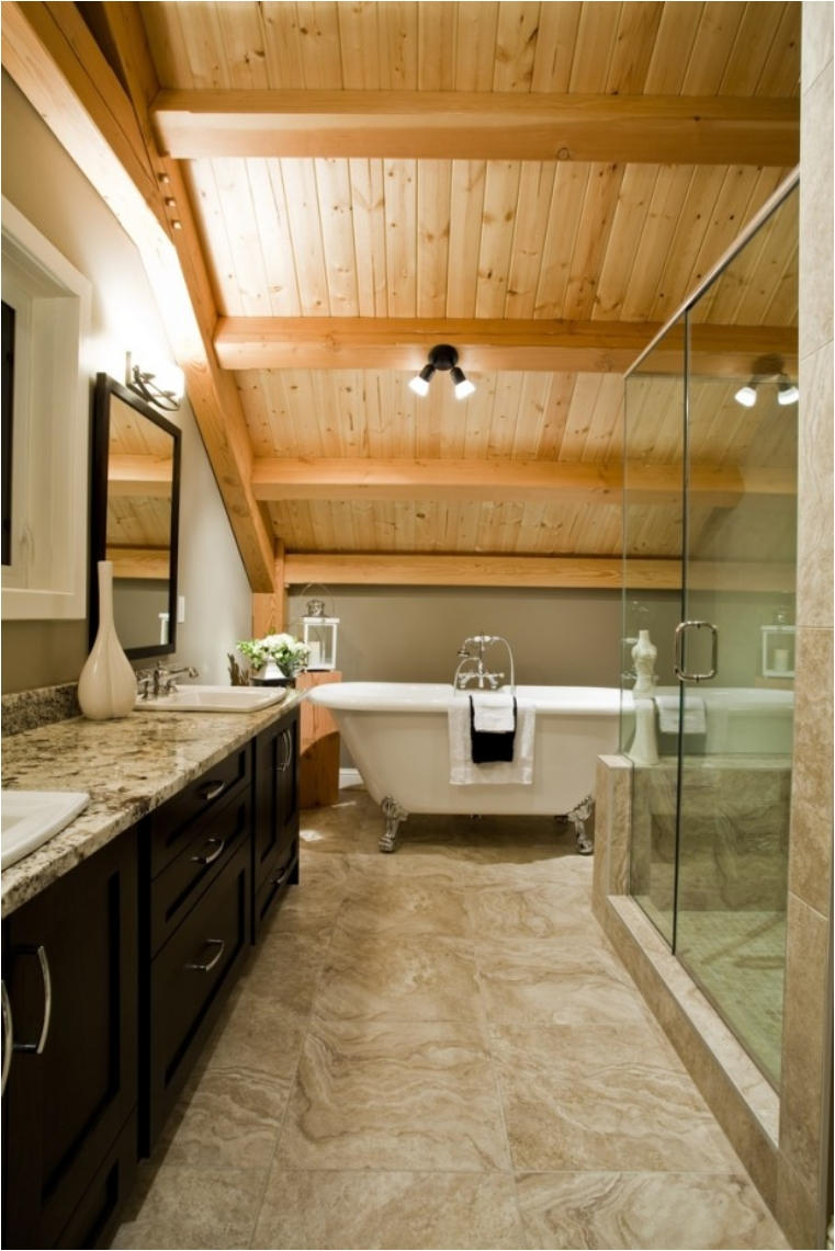 28 clawfoot tubs that will transform your bathroom ritely Bathroom remodel with walk in tub