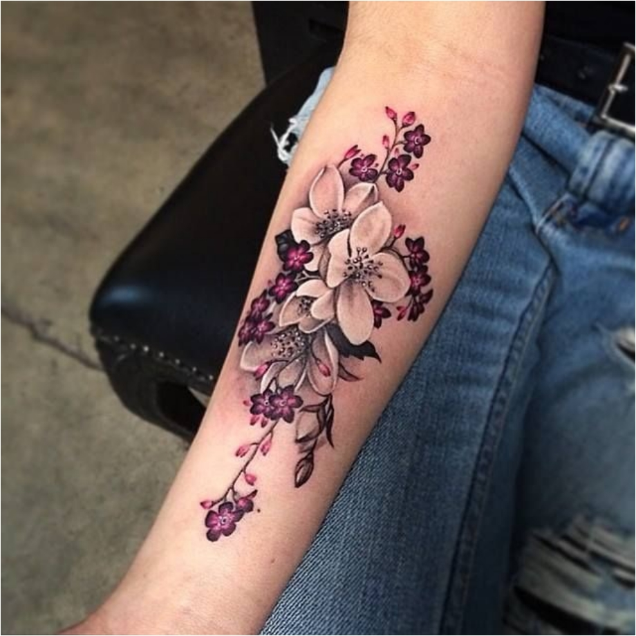 From Delicate To Rebellious 40 Fabulous Flower Tattoos Ritely