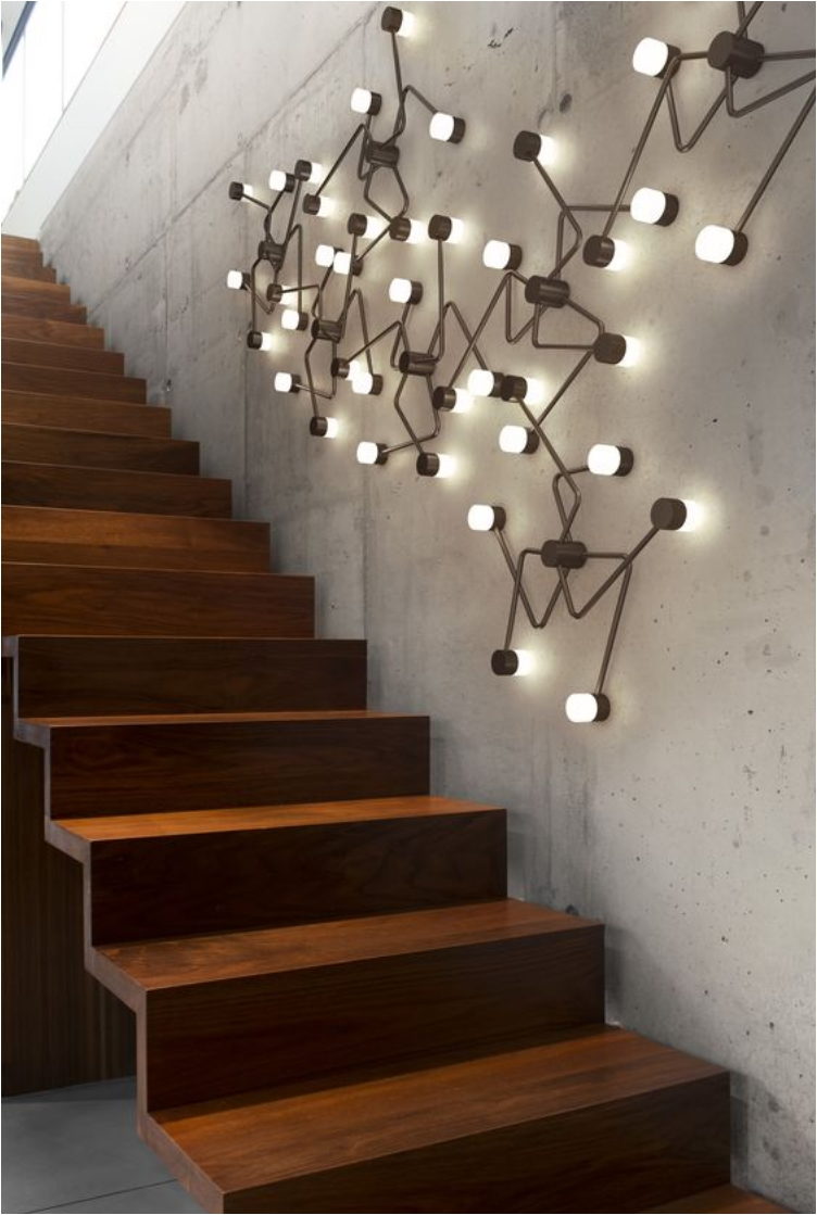 Charmant Staircase Wall Constellation. 31 Stair Decor Ideas ...