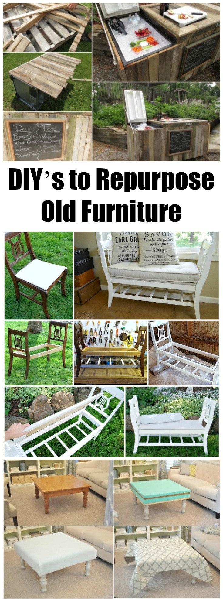 How To Repurpose Old Furniture 28 diy's to repurpose old furniture