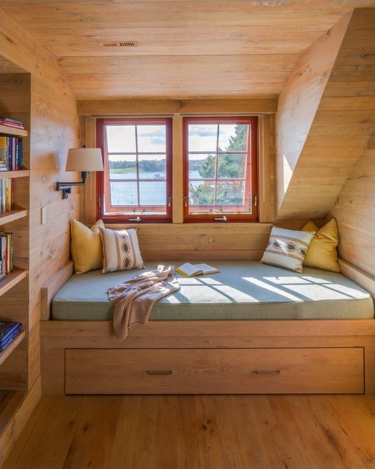 40 cozy nook and alcove beds to curl up and unwind in ritely for Bed nook ideas