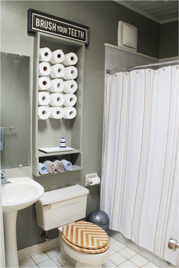 30 Creative Ways to Store Toilet Paper - Ritely