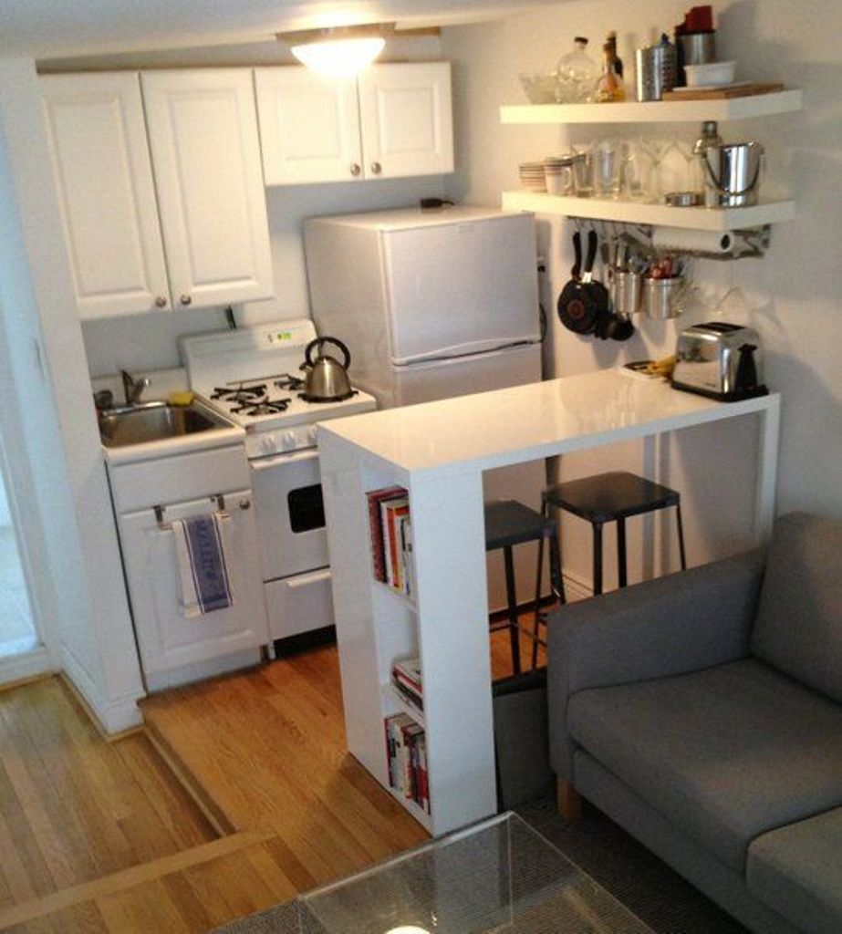 Mini Kitchen Room Box: 43 Ways To Design The Perfect, Tiny Kitchen