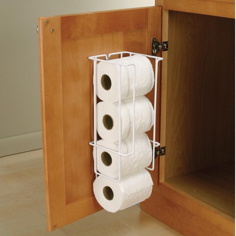 Cabinet Door Toilet Paper Holder