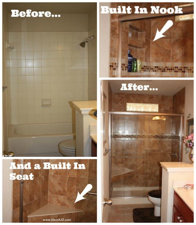 28 diy shower remodel awesome house do it yourself for Do it yourself bathroom remodel
