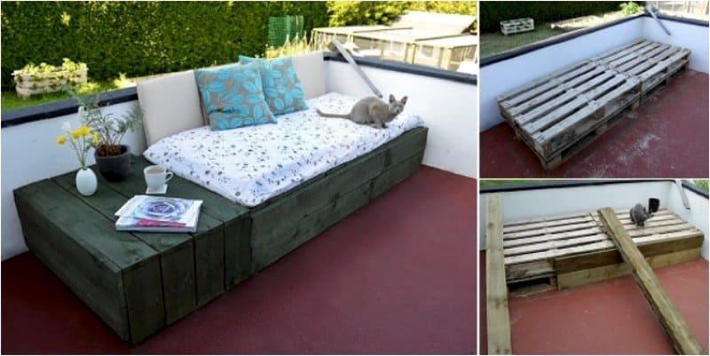DIY Bed soffa