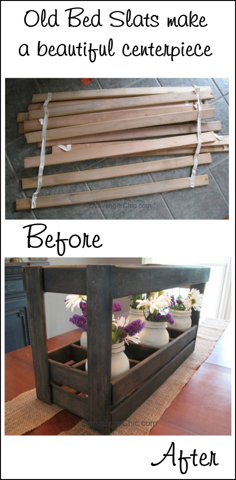 18 Neat Things You Can Create with Old Bed Slats