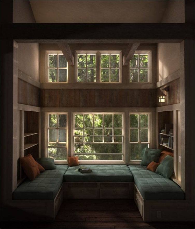 40 cozy nook and alcove beds to curl up and unwind in ritely Window seat reading nook