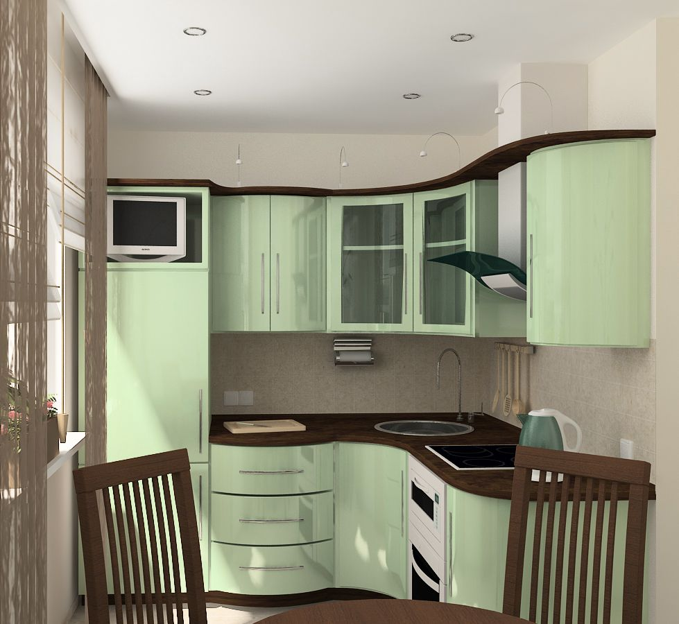 Кухни в хрущёвке дизайн