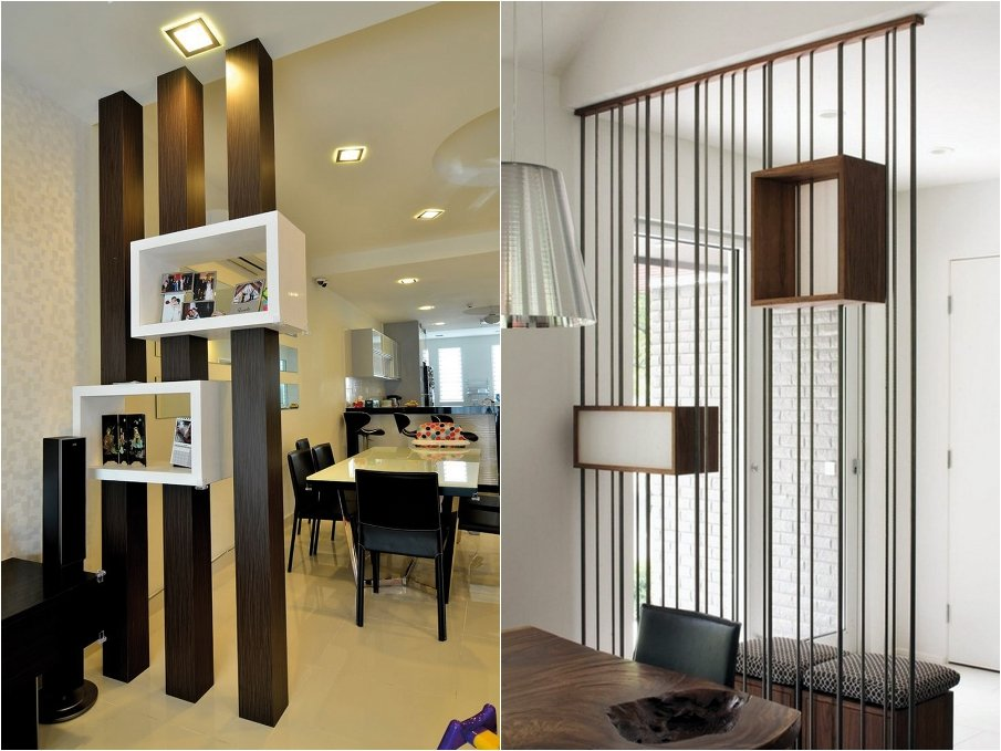 Wood Partition For Boxes As Display Units And Storage Cabinet Dividers