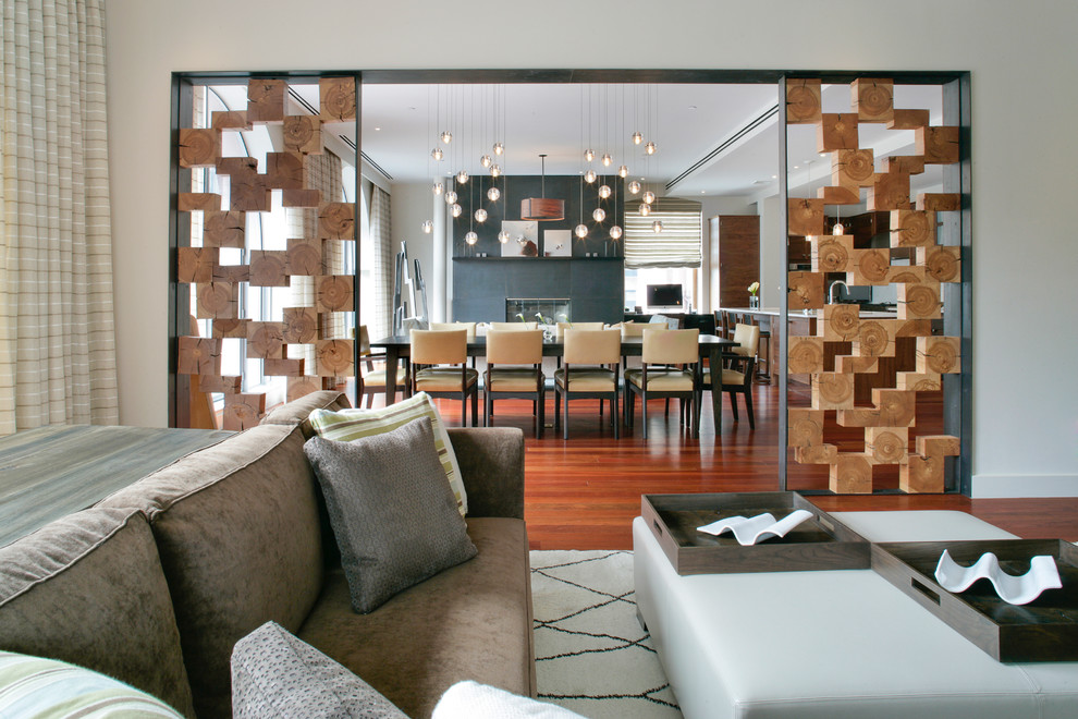 Turn one room into two with 35 amazing room dividers ritely Contemporary room dividers ideas