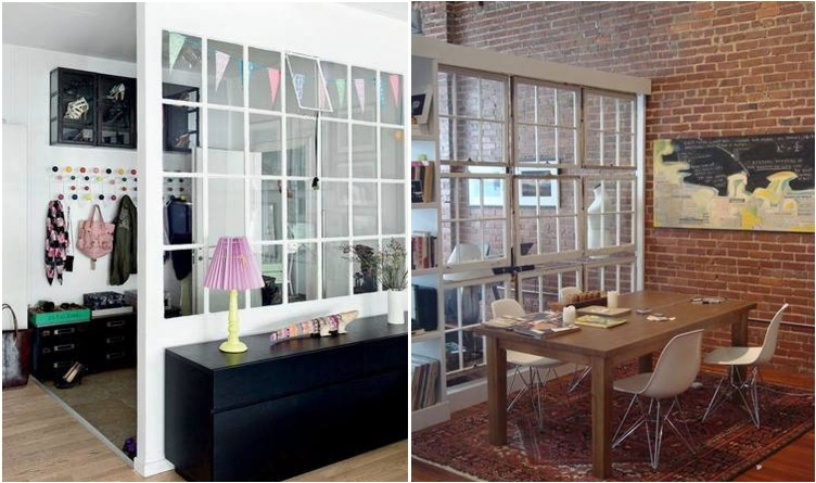 Vintage Window Room Dividers